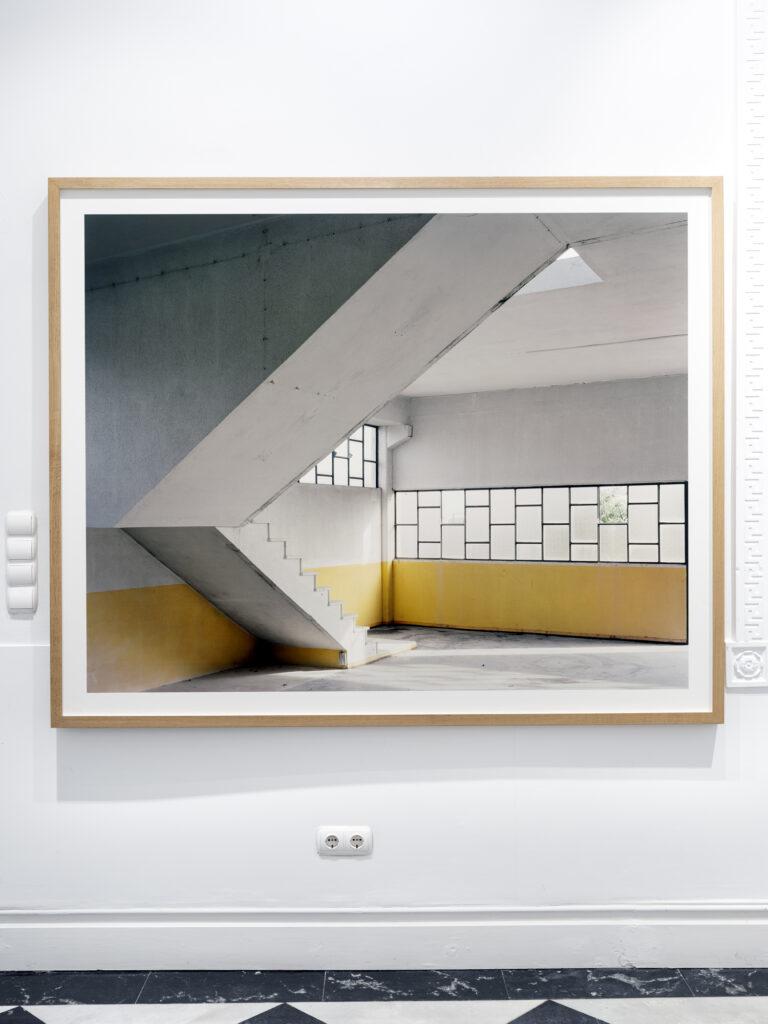 Juan Baraja - Perfil escalera